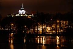 Pilgrimage church zelena hora Stock Image