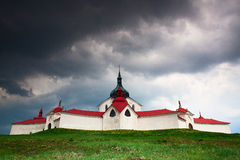 The pilgrimage church zelena hora Royalty Free Stock Image