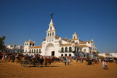 Pilgrimage - el Rocio Royalty Free Stock Photography