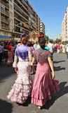 The pilgrimage of El Rocio in Seville, Andalusia, Spain Stock Photography