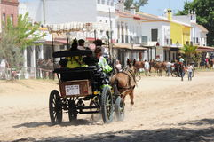 Pilgrimage of el Rocio, Spain Royalty Free Stock Photography