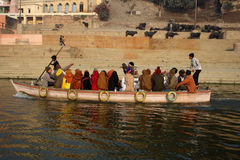 Pilgrimage in India Stock Photography