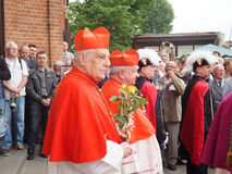 Pilgrimage for men on 25 May 2014, Piekary Silesian Stock Images