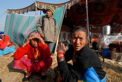 Pilgrimage of Nepal Royalty Free Stock Photo