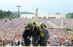 Pilgrimage Our Lady of Fatima , Christian Faith, Virgin Mary Mother of Jesus, Devotee Crowd
