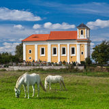 Pilgrimage place on the hill in Chotec Royalty Free Stock Photo