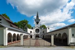 Pilgrimage place of Maria Hilf, Czech Republic Royalty Free Stock Photography