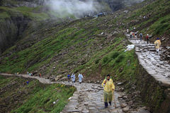 Pilgrimage to Hemakund Sahib Royalty Free Stock Images