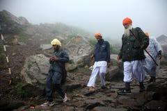 Pilgrimage to Hemakund Sahib Stock Photo