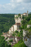 Pilgrimage village rocamadour Royalty Free Stock Photography