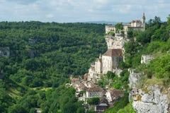 Pilgrimage village rocamadour Stock Image