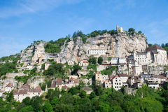 Pilgrimage village rocamadour Stock Photography