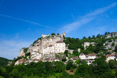 Pilgrimage village rocamadour Royalty Free Stock Photos
