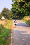 Pilgrimn längs vägen av St James Fotografering för Bildbyråer