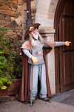 Pilgrimn puppet of the Way of St. James Stock Images