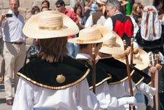 Pilgrims Stock Photo