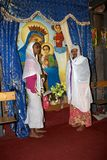 Pilgrims at the Adadi Maryam church Ethiopia Stock Photo