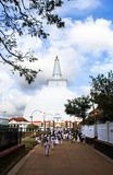 Pilgrims in Anuradhapura, Srilanka Stock Photos