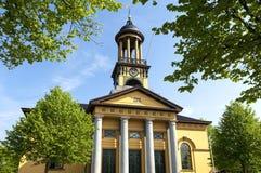 Pilgrims church Jacobskerk, St. Jacobiparochie Stock Photo