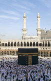 Pilgrims circumambulate the Kaaba Royalty Free Stock Image