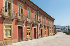 Pilgrims Hostel of Ponte de Lima Royalty Free Stock Photos