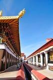 Pilgrims and Jokhang Stock Photos