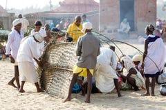 Pilgrims for the Megha Mela of Konark Royalty Free Stock Photography