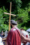 Pilgrims on religious event St. Ivo in Podmilacje, Jajce Royalty Free Stock Photo