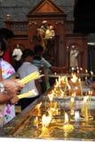 Pilgrims of Saint Anthony Shrine in Colombo royalty free stock photography