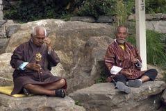 Pilgrims, Thimphu, Bhutan Stock Image
