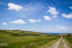 Free Pilgrims Walkin Along The Camino The Santiago Royalty Free Stock Image - 102211916