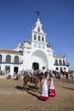 pilgrimsfärd Fotografering för Bildbyråer