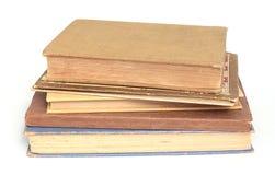Pilha antiga de livros Foto de Stock