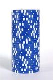 Pilha azul Foto de Stock Royalty Free
