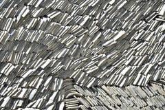 Pilha cinzenta da telha da argila Imagens de Stock Royalty Free
