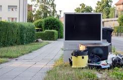 Pilha com lixo eletrônico Imagem de Stock Royalty Free