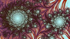 Pilha coral, tela panorâmico ilustração do vetor