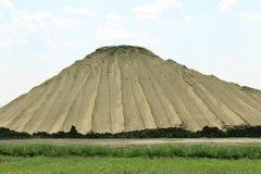 Pilha da areia e da sujeira Imagem de Stock