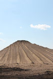 Pilha da areia, textura arenosa Imagem de Stock