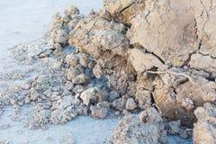 Pilha da argila de Brown Imagem de Stock