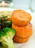 Pilha da batata doce Foto de Stock