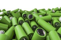 Pilha da bateria Fotografia de Stock