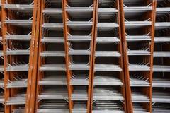 Pilha da escada fotografia de stock royalty free