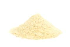 Pilha da farinha de milho Fotografia de Stock