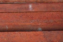 Pilha da madeira serrada da árvore de coco Imagens de Stock