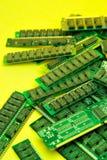Pilha da memória Fotografia de Stock