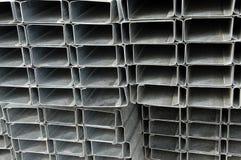 Pilha da moldação de aço foto de stock