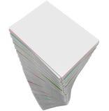 A pilha da pilha do documento documenta o PR infinito da tarefa de trabalho das aplicações ilustração stock