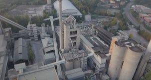 Pilha da planta industrial filme