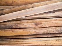 Pilha da prancha de madeira Fotos de Stock